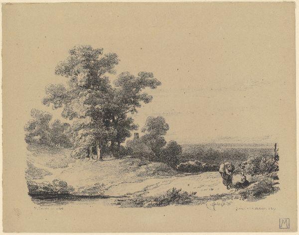 Heuvelachtig landschap